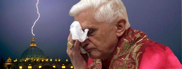 Pope resigned